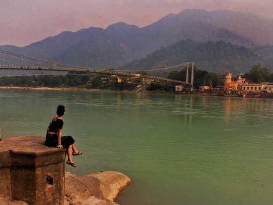 nina on the ganges river