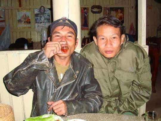 Lao-Lao Whiskey Laos