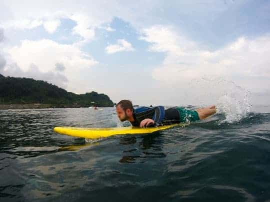 1 Surfing in the noth of Taiwan