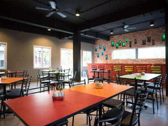 Fill Me Up restaurant Brick House Hostel