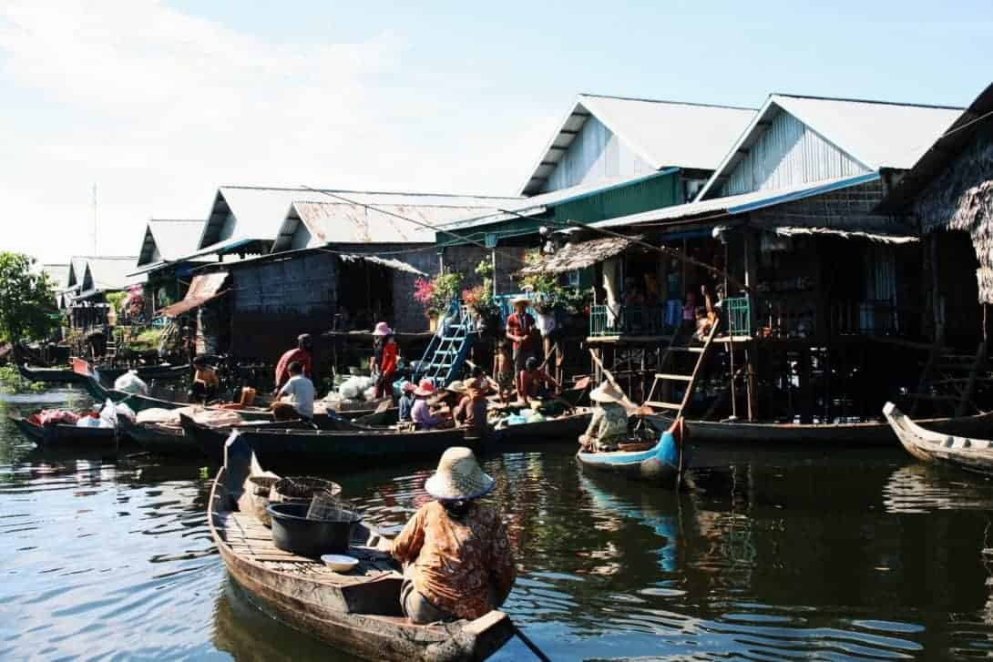 Tonle Sap Floating Villages, outside Siem Reap. Photo by Jen Seiser.