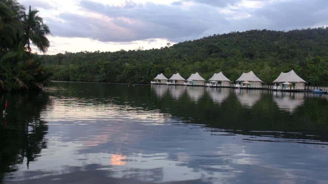Tatai River Koh Kong Province, Cambodia