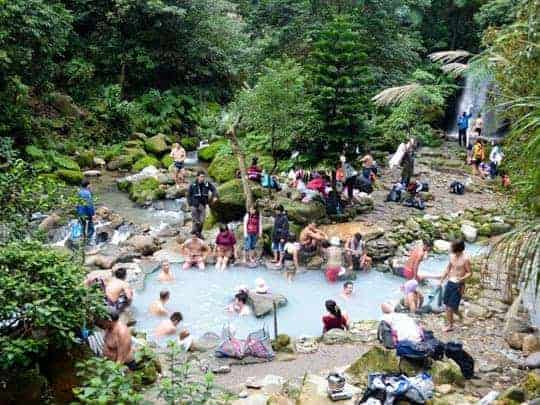 edit - Ba Yan wild hotsprings in Yangmingshan National Park Taiwan
