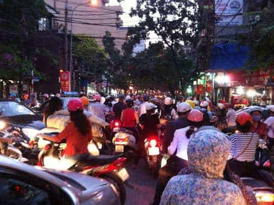 Hanoi traffic EDIT