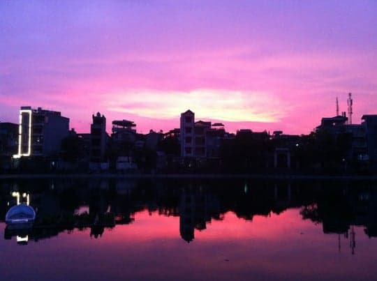 Hoan Kiem - Sunset in Hanoi