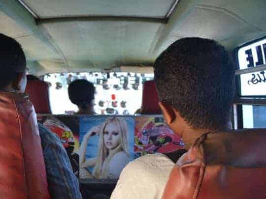13. Disco bus