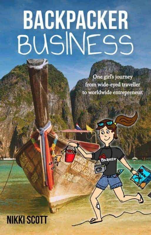 Front Cover Backpacker Business Nikki Scott