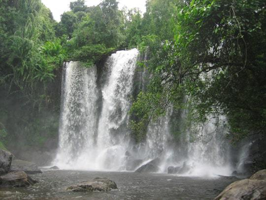 Waterfall Phnom Kulen