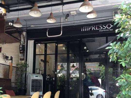Impresso cafe Chiang Mai