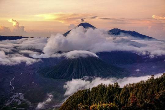 Sunrise Bromo Volcano
