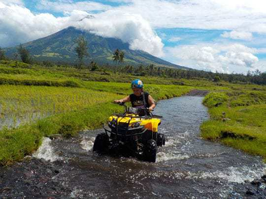 ATV ride to Mayon Volcano
