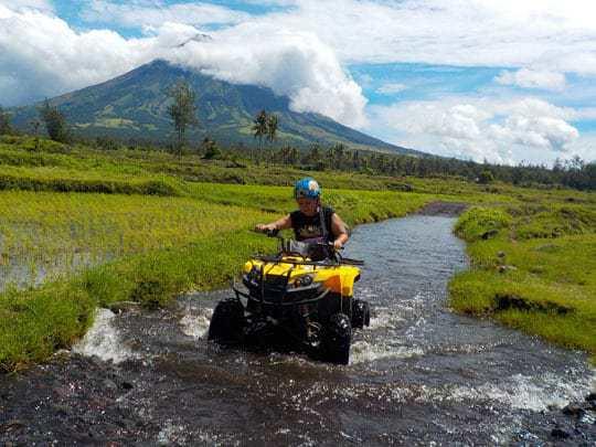 ATV ride to Mayon Volcano