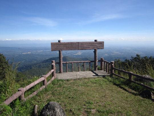 One of the Viewpoints in Khun Tan National Park