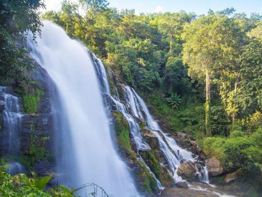 Wachirathan Waterfall on Doi Inthanon, Thailand