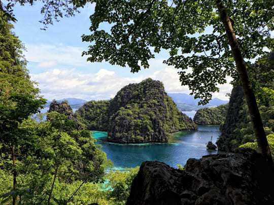 Kayangan Lake in Coron, Palawan.