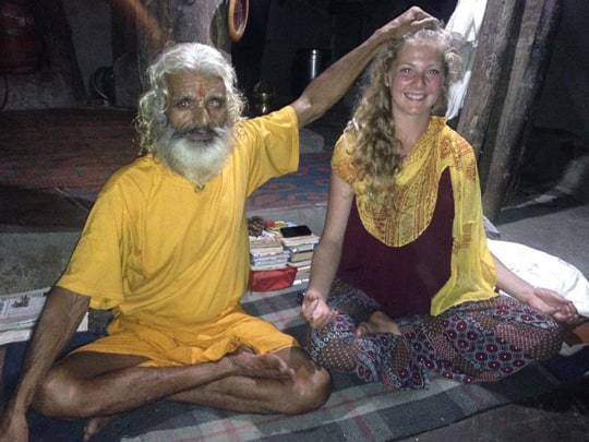 with-a-saddhu-in-rishikesh
