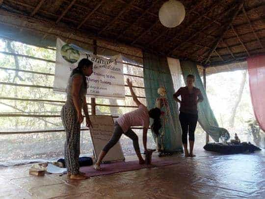 Alignment class, Becoming a Yoga Teacher in India