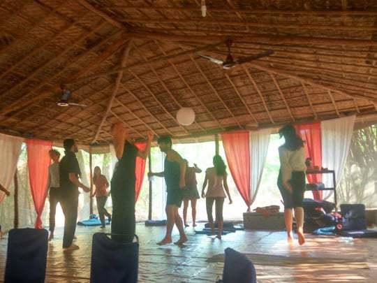 Dancing meditation, Becoming a Yoga Teacher in India
