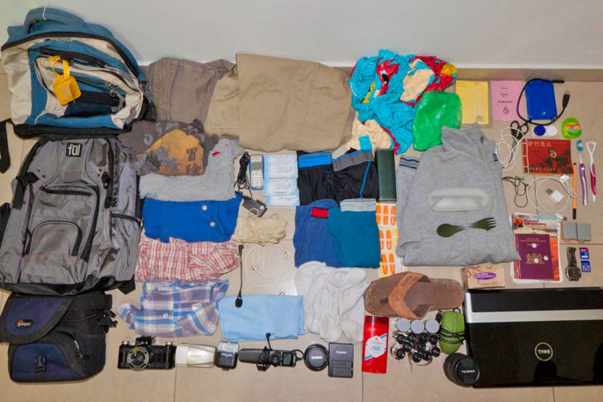 The South East Asia Backpacker Rough Guide to Packing!