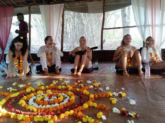 Becoming a Yoga Teacher in India