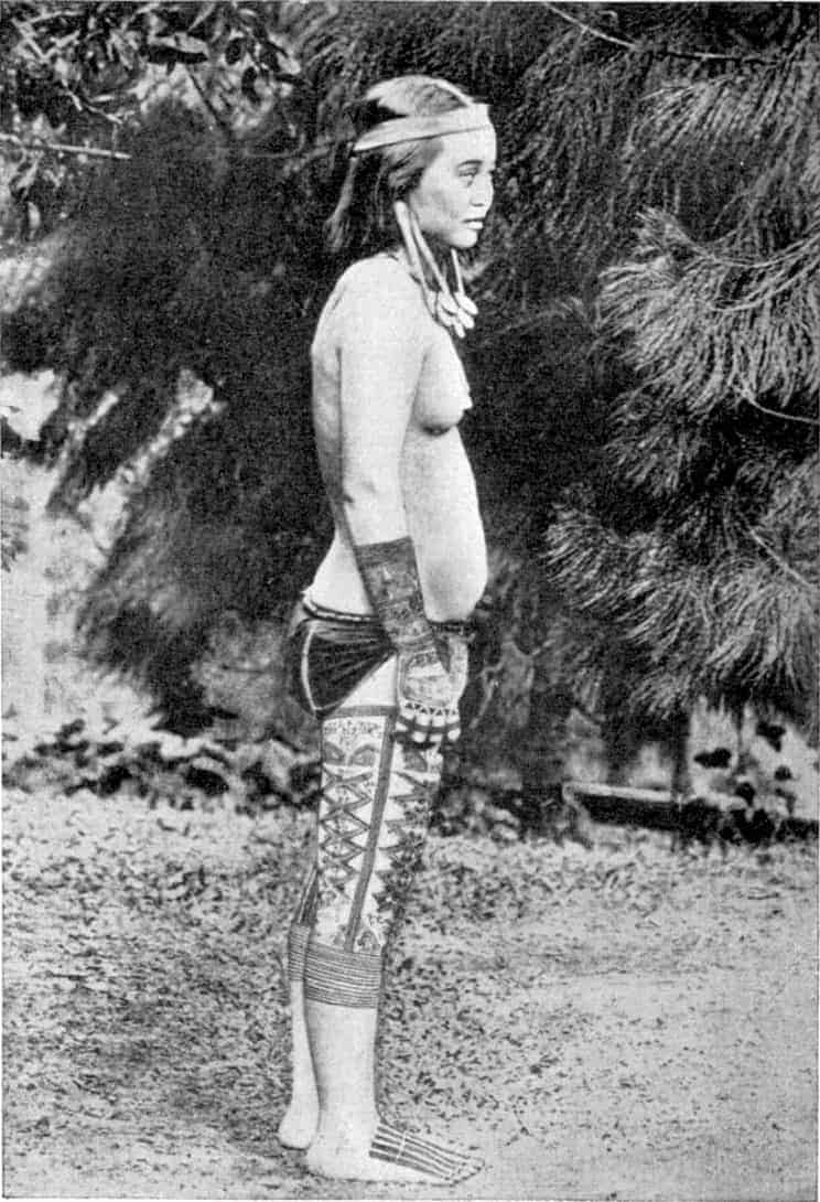 Kayan Tribal Woman Borneo