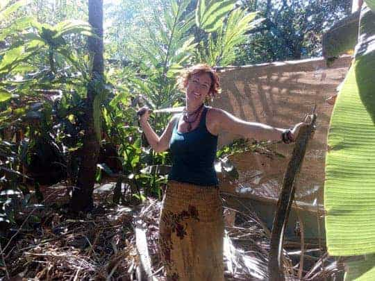 Permaculture Design Course with Rico Zook in Arambol, Goa, India.