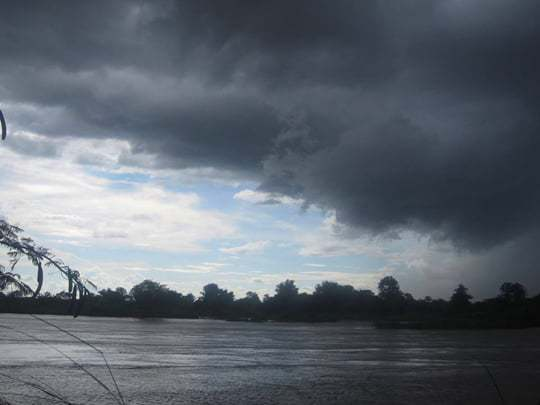 Storm over the Mekong. Moments in Southeast Asia you'll never forget.