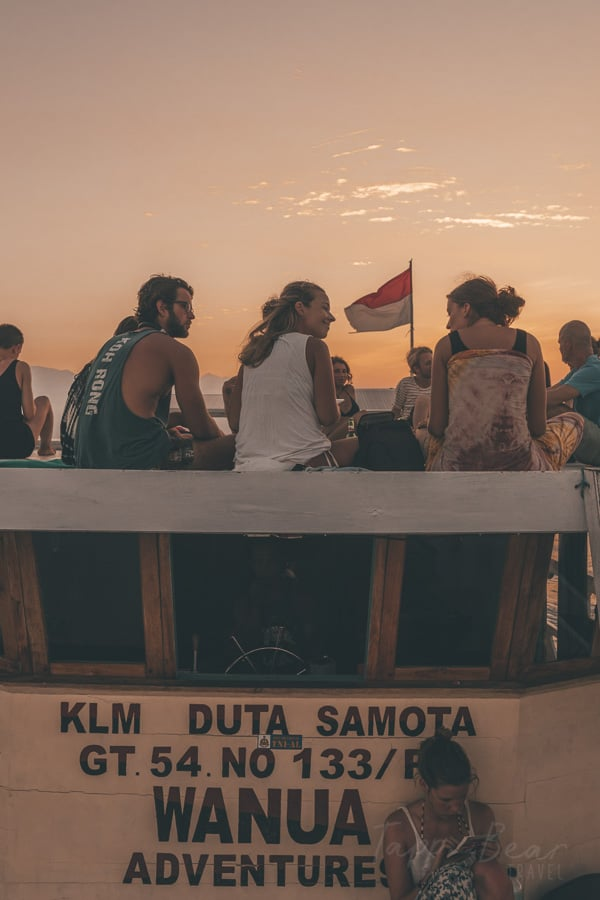 Wanua Adventure Boat Trip Lombok to Flores