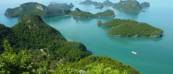 Ang Thong Marine Park (uninhabited archipelago)