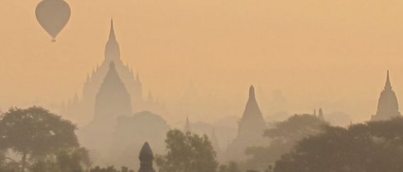 Bagan (thousands of crumbling temples)