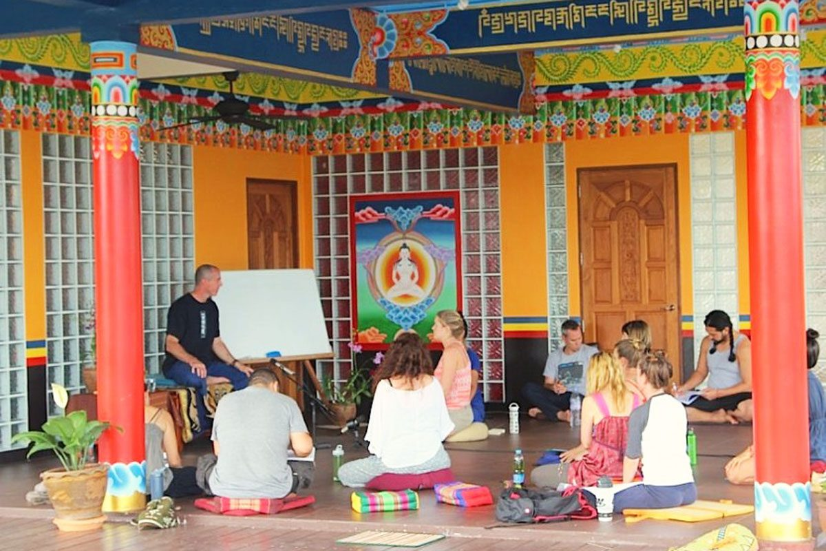 Deep Reflection & Spiritual Learning at the DHARMA INC Centre, Thailand.