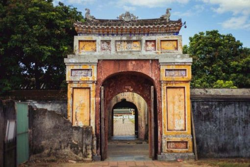 Ancient arch in Hue, Vietnam
