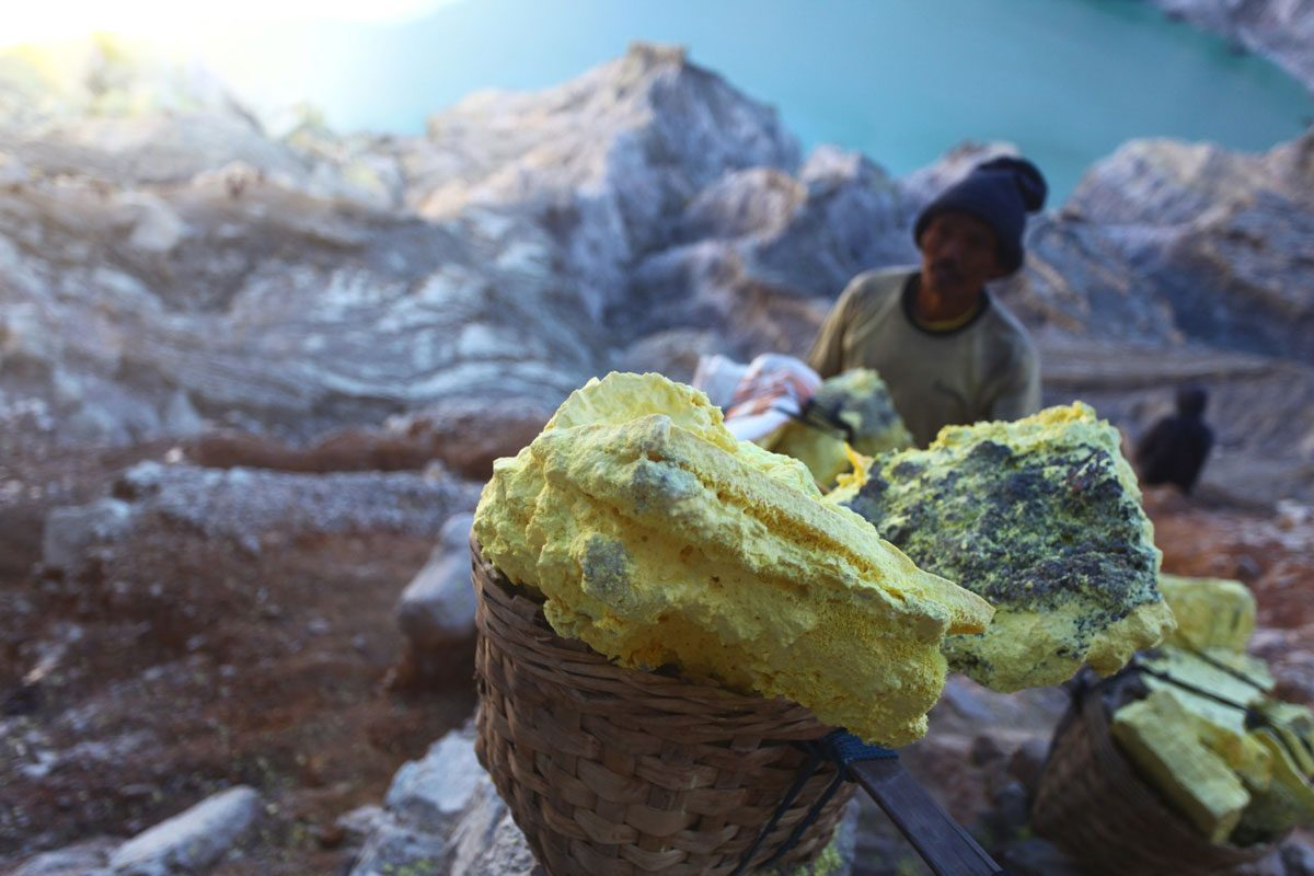 Chasing Blue Flames in Java, Indonesia: Kawah Ijen Volcano