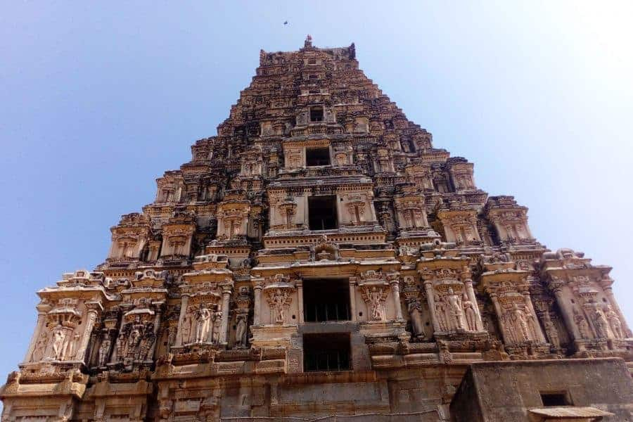 A temple in Hampi, Karnataka