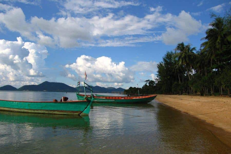 Kep Rabbit Island - Cambodian Islands