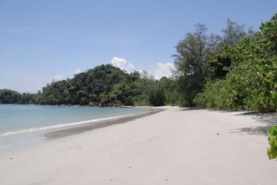 A Deserted Beach on Koh Phayam