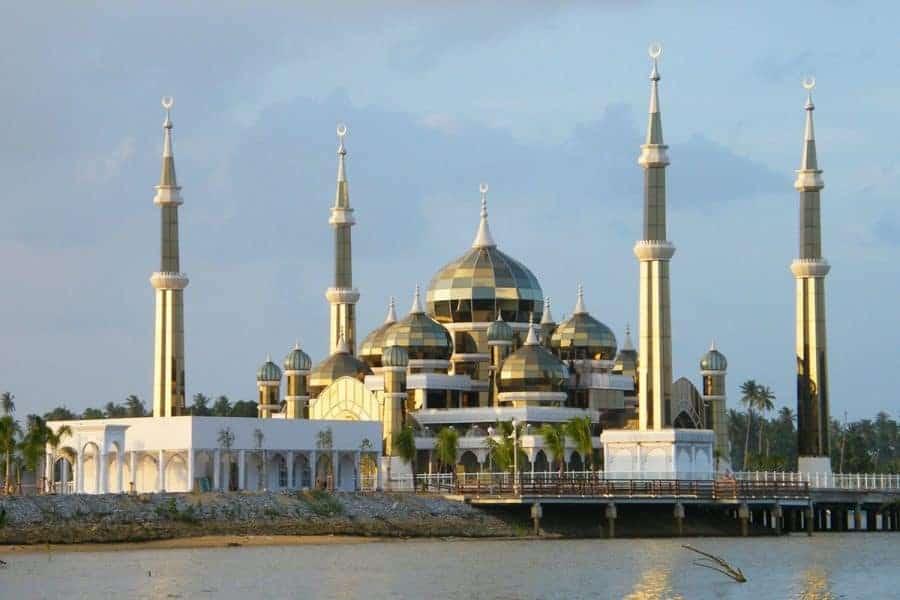 A mosque in Kuala Terengganu