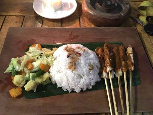 Chicken Satay Lombok