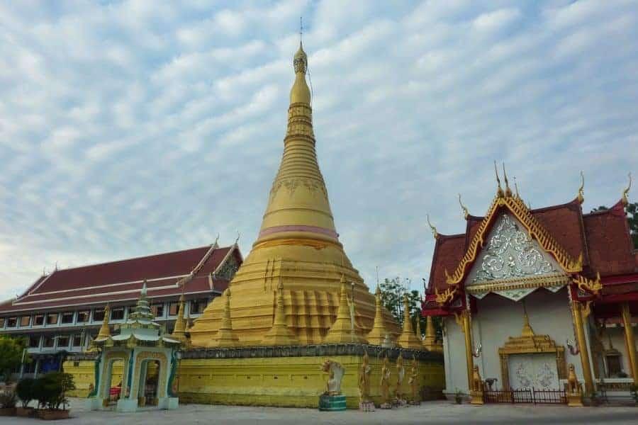 A pagoda in Mae Sot