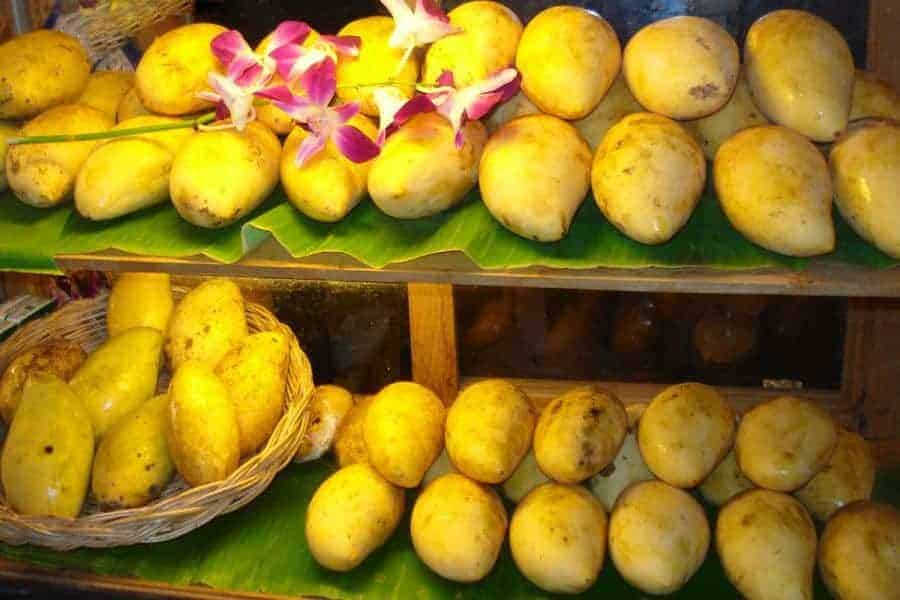 Mangoes for sale in Southeast Asia