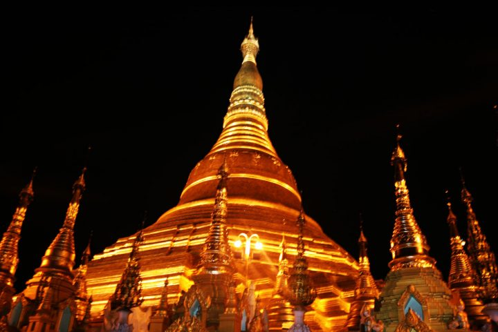 Yangon (The old capital)