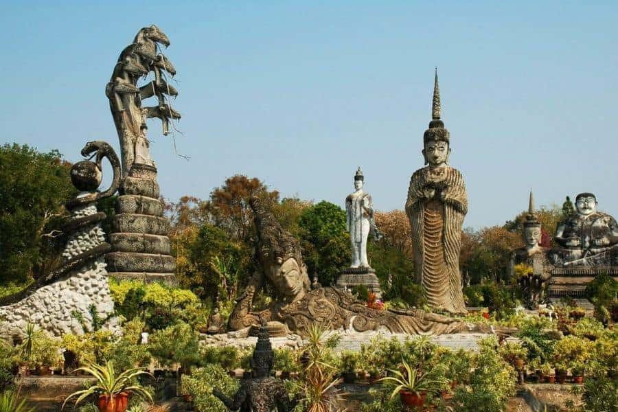 Statues in Nong Khai