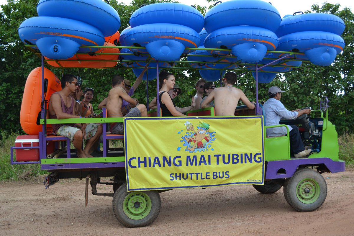 Could Chiang Mai be the Next Tubing Mecca? We Spend the Day with Chiang Mai Tubing and Beach Club!