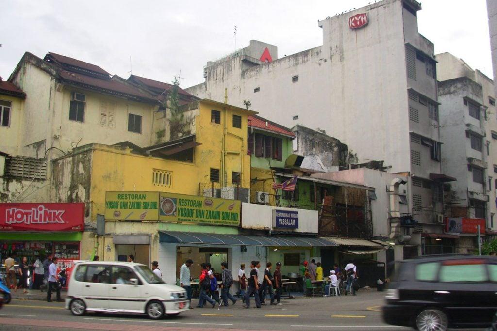 Kuala Lumpur, capital of Malaysia.