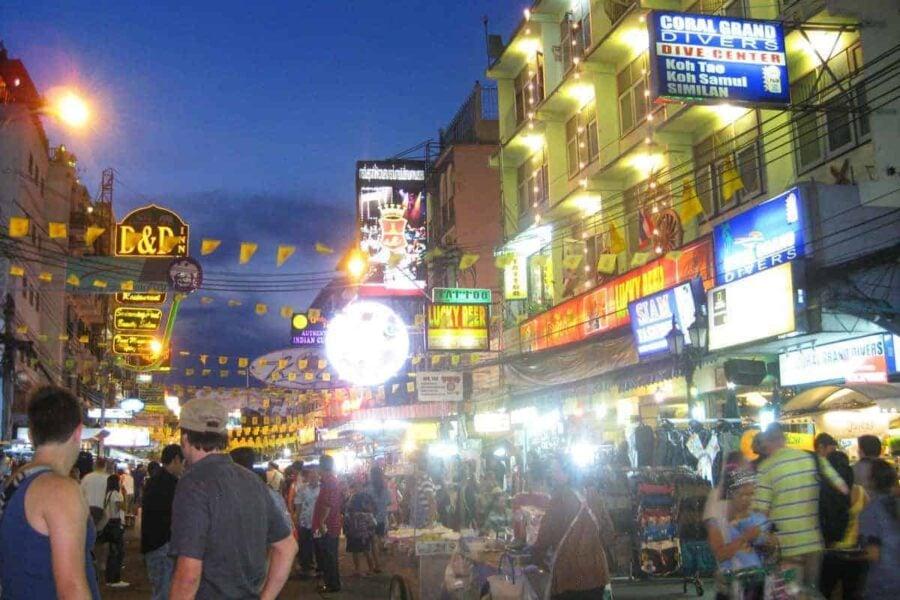 Khao San Road, Bangkok.