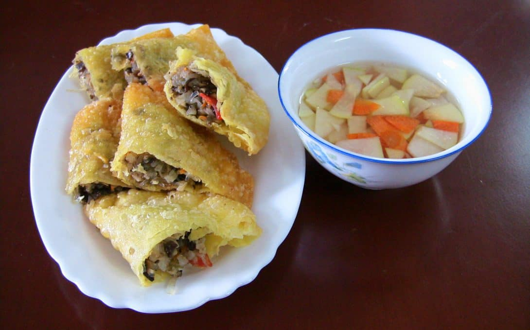 Banh Goi, a pastry appetiser in Vietnam