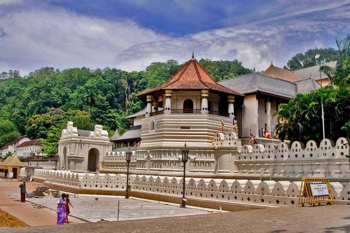 The Temple Of The Tooth, Kandy, Sri Lanka