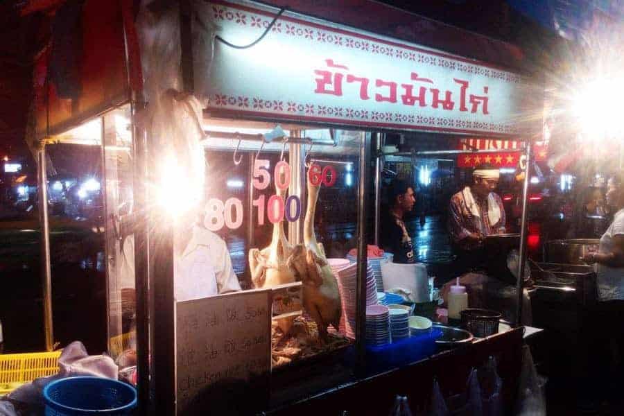 Street food in Bangkok's Chinatown Neighbourhood.