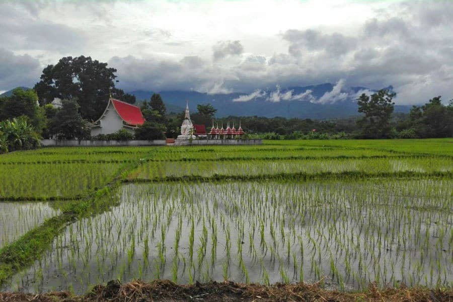Beautiful Pai, Thailand - in the rainy season.
