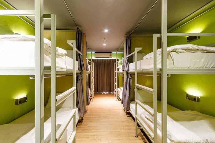 Siamaze Hostel, Bangkok, Thailand Dorm rooms
